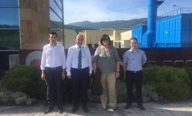El vicepresidente Ayerdi visita Sakana S. Coop. para conocer su diversificación e internacionalización