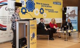 """Uxue Barkos: """"La Economía Social contribuye al crecimiento inteligente, sostenible e integrador"""""""