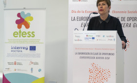 La presidenta de Navarra destaca los logros de la Economía Social